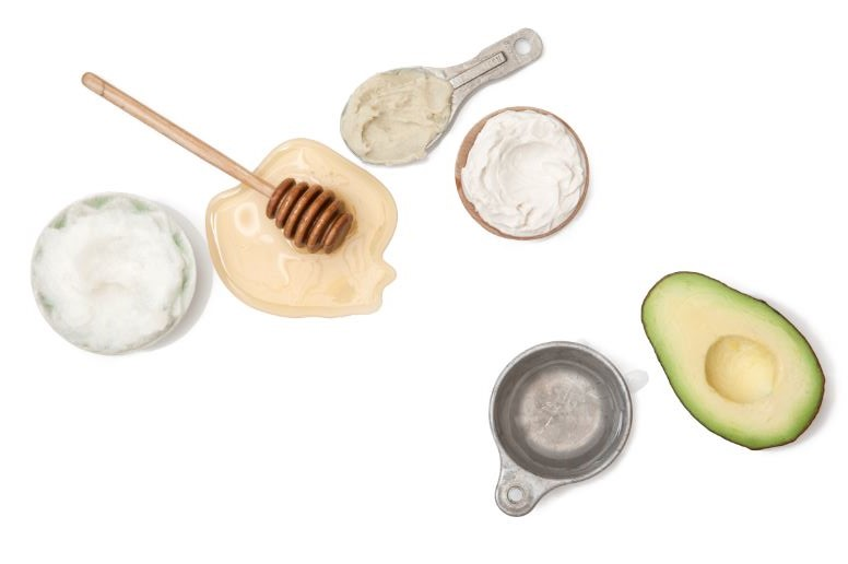 Ingredients for DIY Ultra-Hydrating Hair Mask