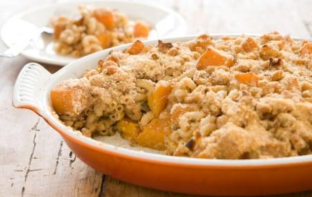 Butternut Squash and Macaroni Casserole