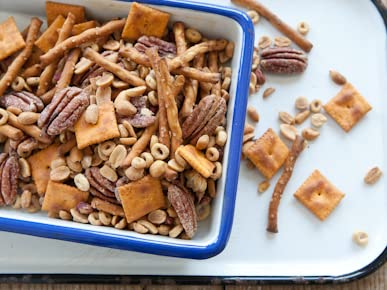 Baked Snack Mix