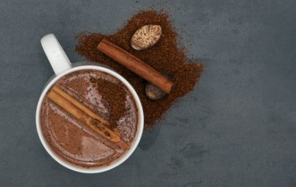 Mexican style hot chocolate