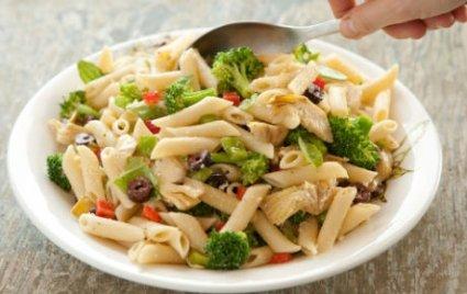Artichoke and Broccoli Pasta Salad