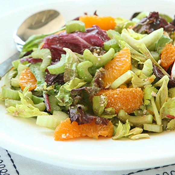 Celery Citrus Salad with Balsamic and Feta recipe