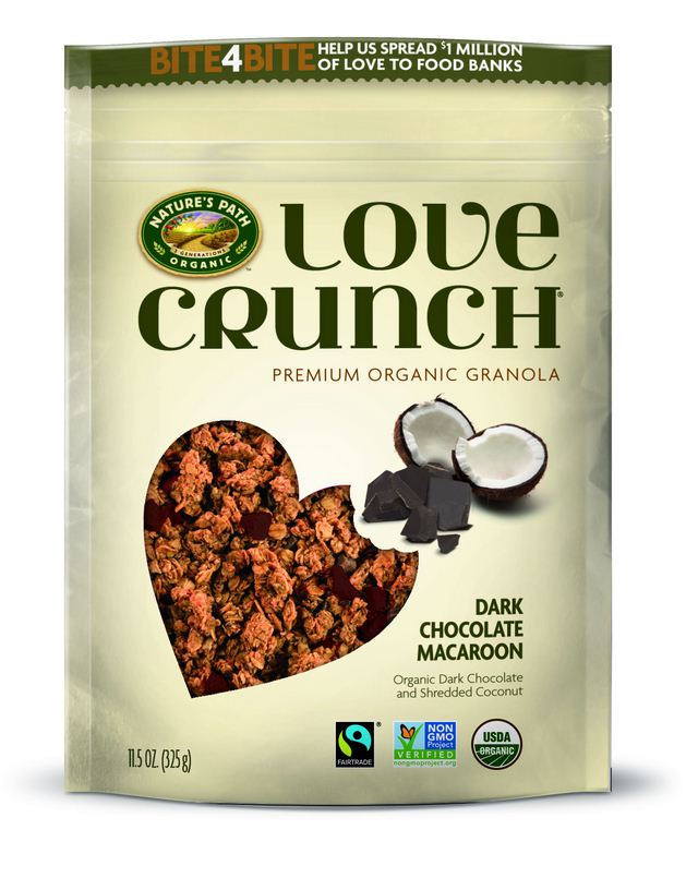Nature's Path Organic Love Crunch Dark Chocolate Macaroon