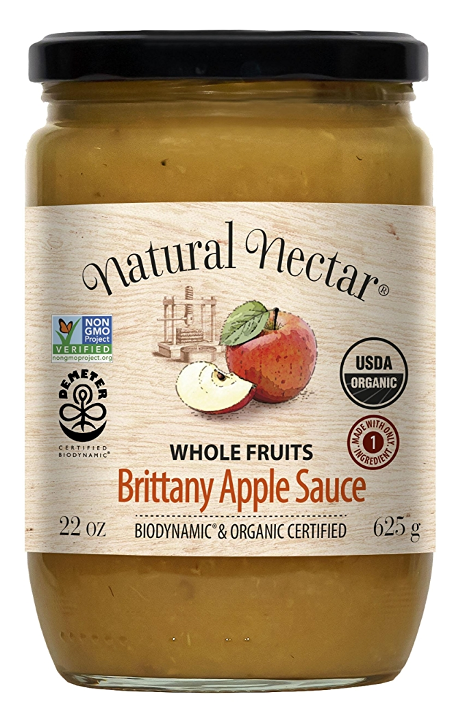 Natural Nectar Biodynamic Brittany Apple Sauce