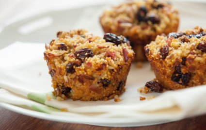 Baked Millet and Apple Breakfast Cakes
