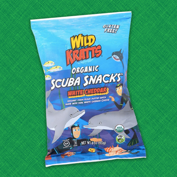 Wild Kratts Organic White Cheddar Scuba Snacks™