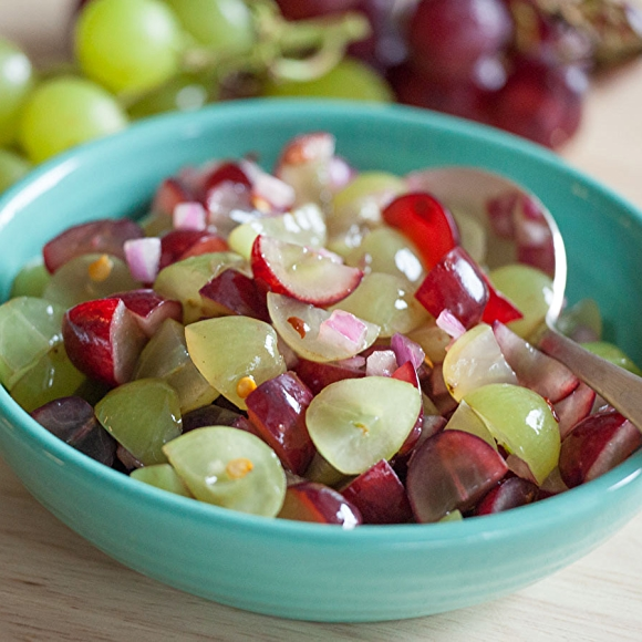 Spicy Grape Salsa