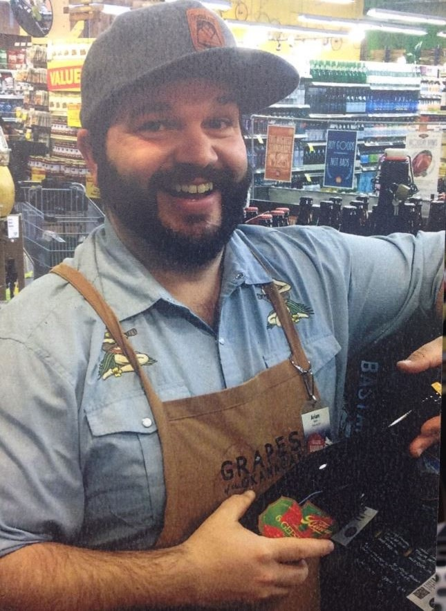 Arian Stevens, Beer Specialist at the Bend, Oregon Whole Foods Market store.