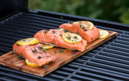 Cedar Plank Salmon Fillets