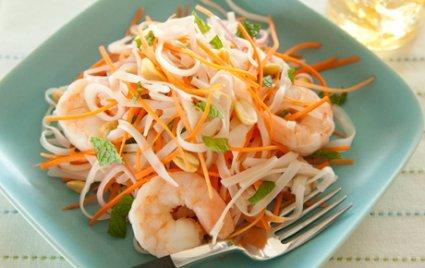 Thai Shrimp and Carrot Salad