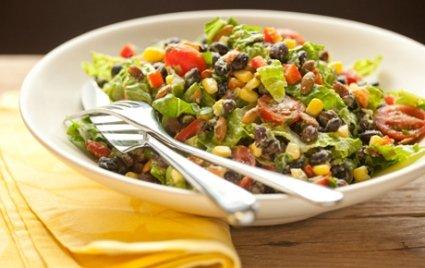 Black Bean Salad With Avocado-Lime Dressing