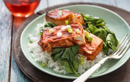 Spicy Slow Cooker Tofu