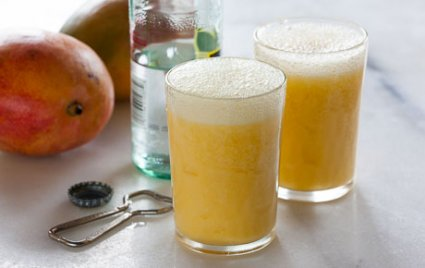 Tropical Mango Sparkler
