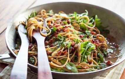Not Your Nonna's Spaghetti Carbonara