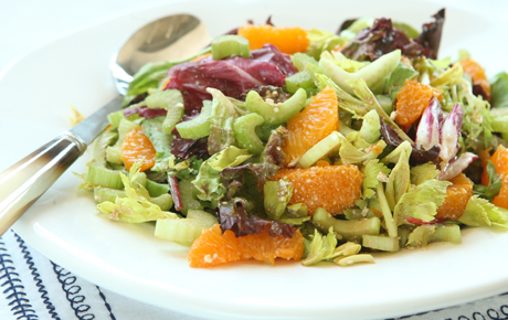 Celery Citrus Salad with Balsamic and Feta