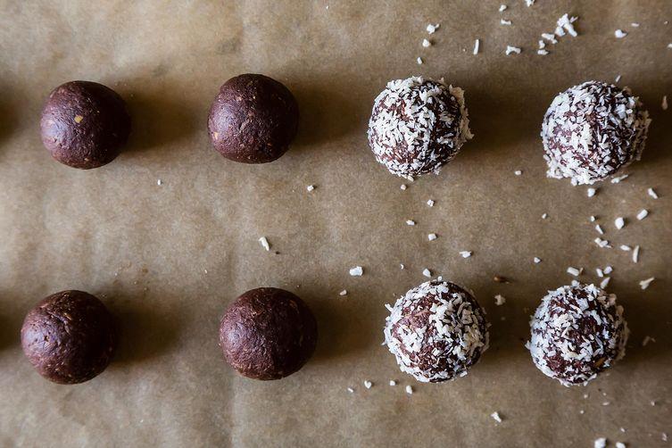 Dark Chocolate Coconut Bites