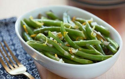 Citrusy Green Beans