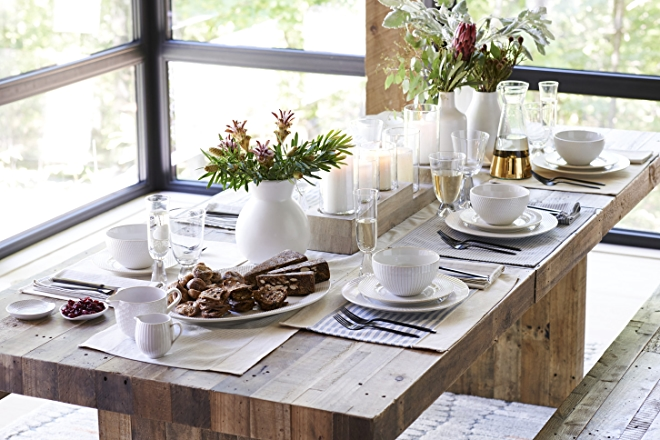 West Elm Holiday Table