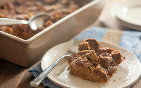 Pumpkin Chai Bread Pudding