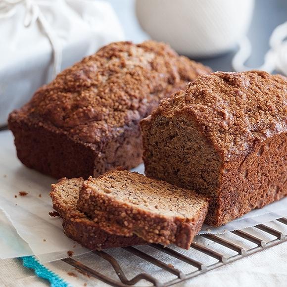 image of quick bread, banana bread