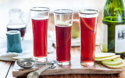 Apple Pomegranate Fizz recipe