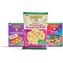 Product image of Cheddar Bunnies, Bunny Grahams, Cracker Squares and Bunny Tail Puffs