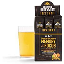 Product image of Alpha Brain Peach Memory and Focus Drink Mix