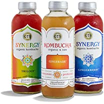 Product image of Kombucha, Synergy and Alive Sparkling Ciders