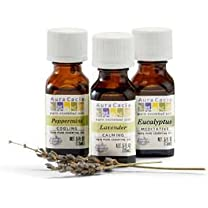 Product image of Peppermint, Lavender, and Eucalyptus Essential Oils