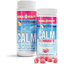 Product image of Calm Gummies and Effervescent Powders