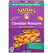 Product image of Organic Cheddar Bunnies Crackers