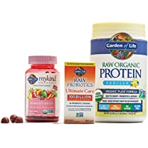 Product image of RAW Plant Protein Powders, myKind Vitamins and RAW Probiotics