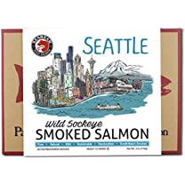 Product image of Seattle Skyline Smoked Sockeye Salmon