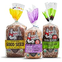 Product image of All Dave's Killer Bread Organic Bagels, Buns and Bread