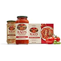 Product image of Marinara and Alfredo Sauce, Pastas, Soups and Frozen Entrées