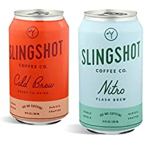 Product image of Nitro Flash Brew and Cold Brew Cans