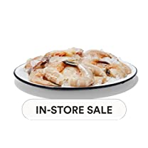 Product image of Previously Frozen Shell-On White Shrimp, 16/20 ct