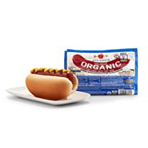 Product image of Organic Grass-Fed Beef Hot Dog