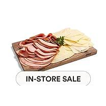 Product image of Sliced-in-House Rosemary Ham & Jarlsberg Cheese