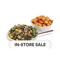 Product image of Tofu Bravas & Macrobiotic Miso Kale Salad