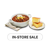 Product image of Prepared Foods Packaged Chili & Bakery Cornbread