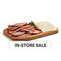 Product image of Sliced-in-House Slow-Cooked Ham & Swiss Cheese