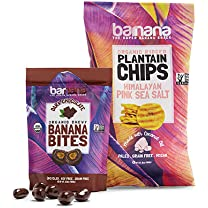 Product image of Organic Brittle, Banana Bites and Plantain Chips
