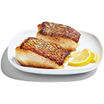 Product image of Previously Frozen Chilean Sea Bass Fillets