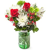 Product image of Medium Winter Mason Jar Bouquet