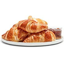 Product image of Large Butter or Chocolate Croissants, 4 pk
