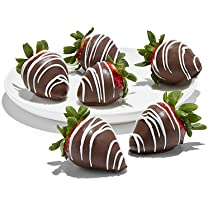 Product image of Chocolate-Dipped Strawberries, 6 pk