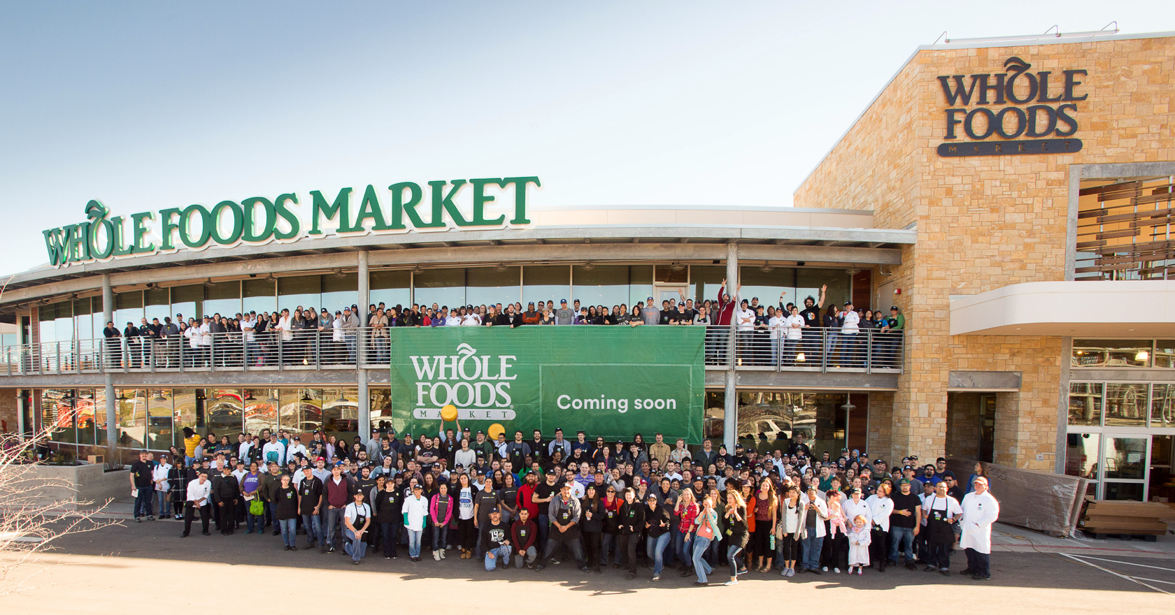 A new Whole Foods Market store opening