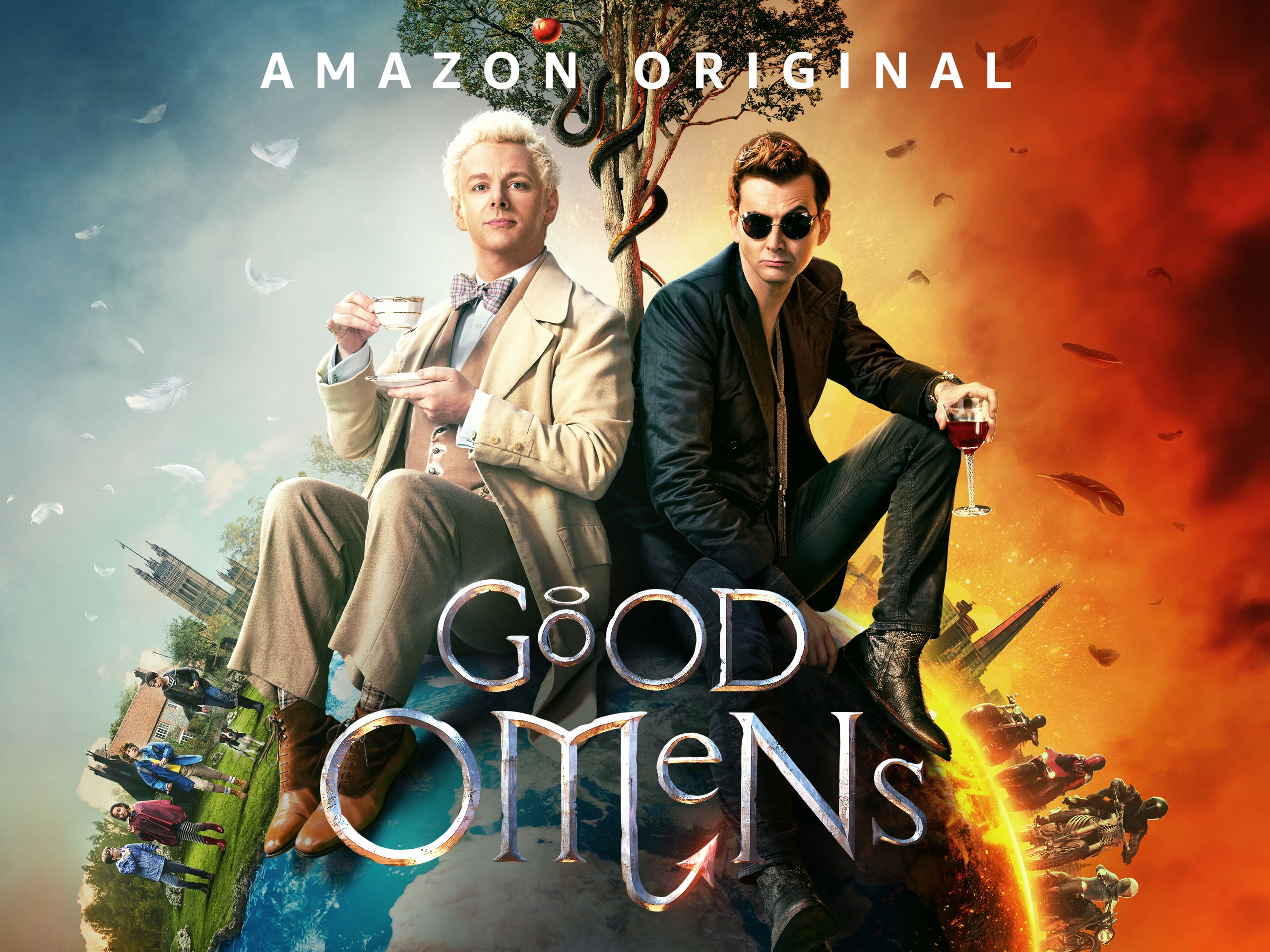Amazoncom Watch Good Omens Season 1 Prime Video