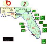 Where Is Area Code Located Evi - Area code 772